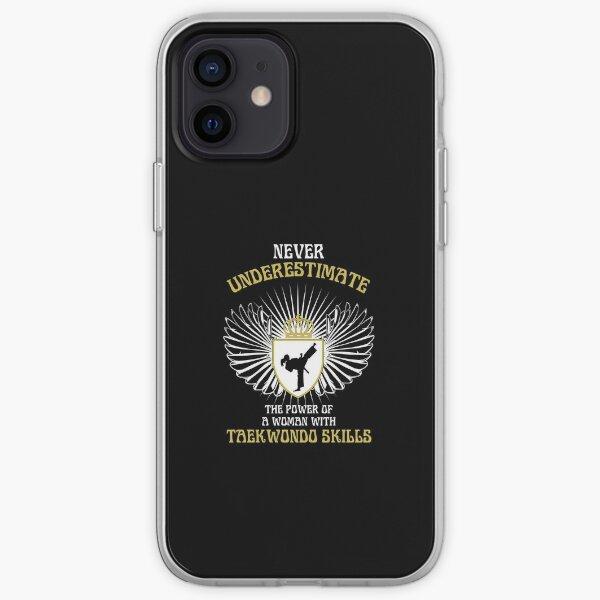 WOMAN WITH TAEKWONDO SKILLS iPhone Soft Case