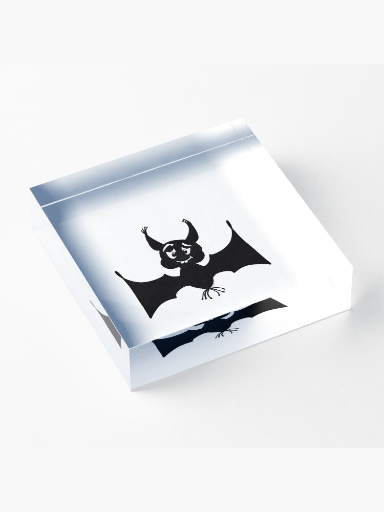 Alternate view of Billy the Halloween Bat Acrylic Block