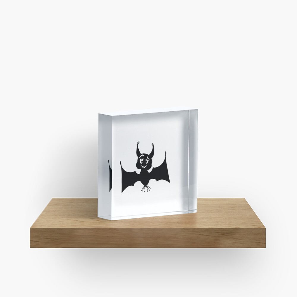 Billy the Halloween Bat Acrylic Block