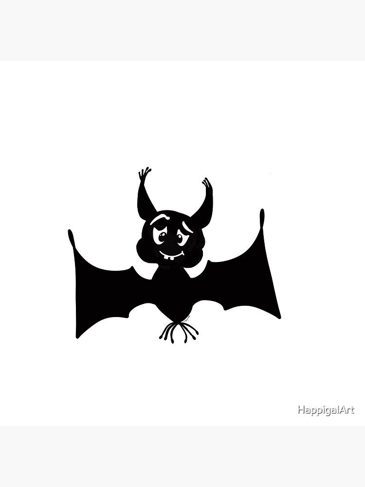 Billy the Halloween Bat by HappigalArt