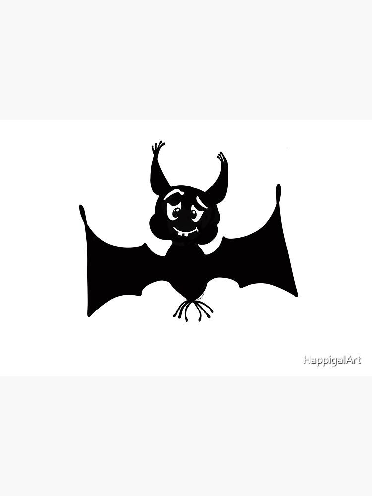 Billy the Halloween Bat by HappigalArt