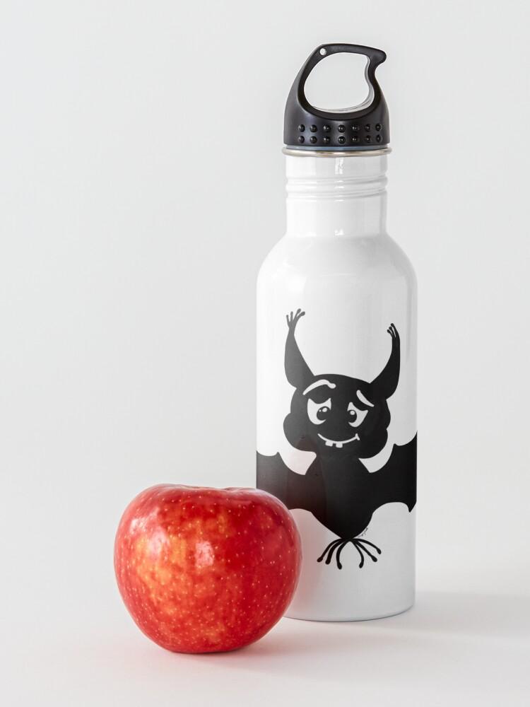 Alternate view of Billy the Halloween Bat Water Bottle