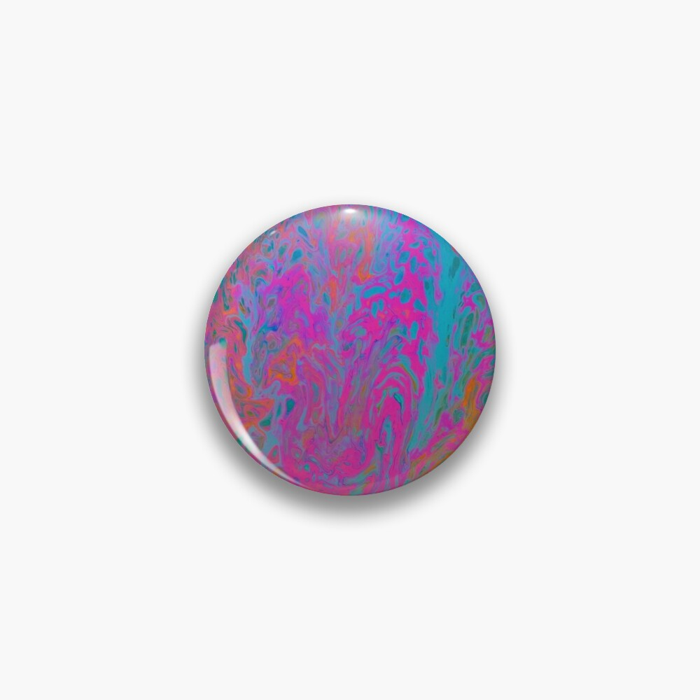 "Abstract Painting-""Pop Art Bark""  Pin"