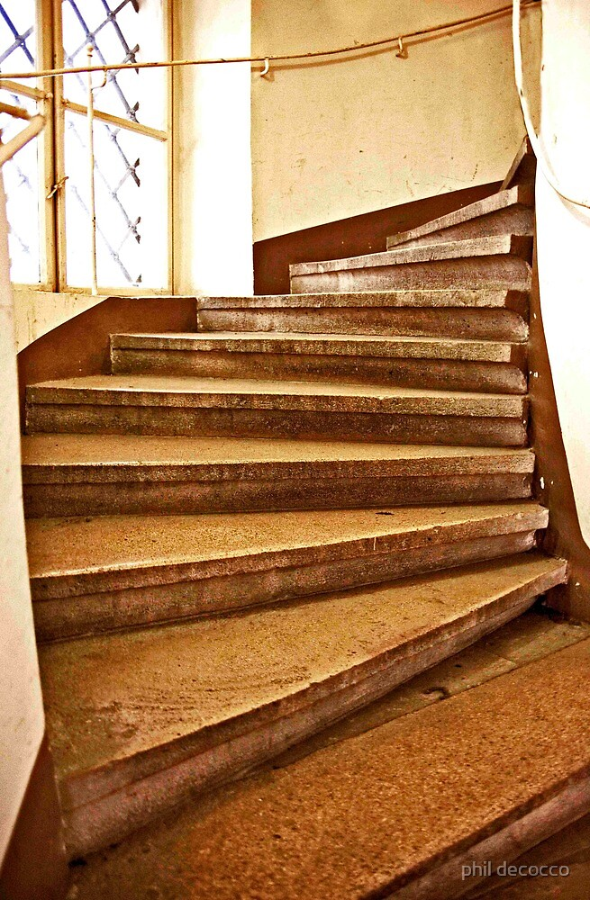 Tumbling Stairs by phil decocco