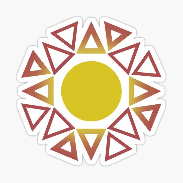 Directional Sun Sticker