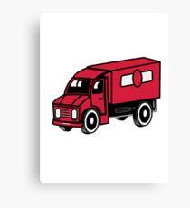 Car toys truck truck truck vehicle Canvas Print