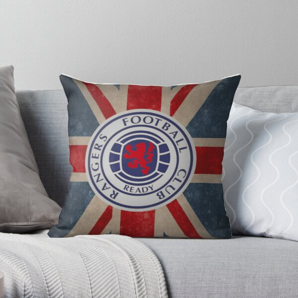 Glasgow Rangers Throw Pillow