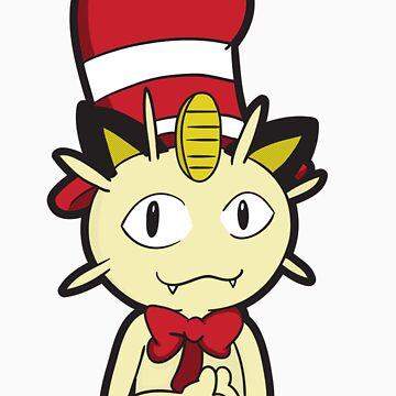 Meowth in the Hat by jayrokk