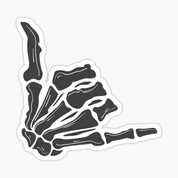 couple costume-Skeleton Hands gesture Shirt, Funny Halloween Shirt, Happy fingers/skeleton/retro Halloween T-Shirt, Pumpkin Shirt, Bat Shirt, Ghost Shirt, Witch Shirt, Spider Tee Sticker