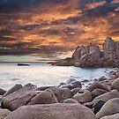 Pinnacles Sunset3 by Vicki Moritz