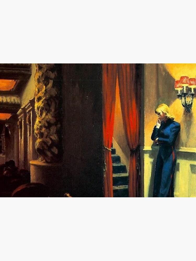 NEW YORK MOVIE - EDWARD HOPPER by arthistoryfever