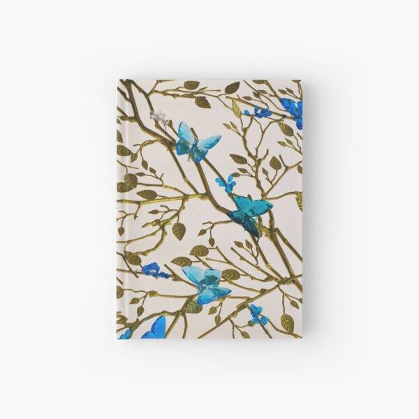 Blue Butterflies  Hardcover Journal