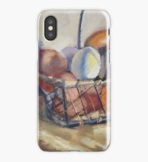 Farm Eggs in a Basket iPhone Case/Skin