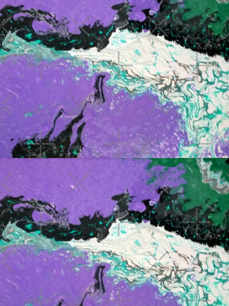 """Abstract Painting-""""Mardi Gras"""" by Matlgirl"""