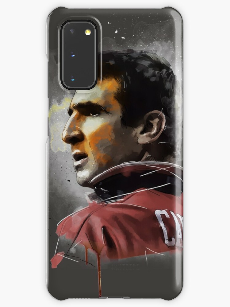 Coque Et Skin Adhesive Samsung Galaxy Eric Cantona Peinture Par Uniteeds Redbubble