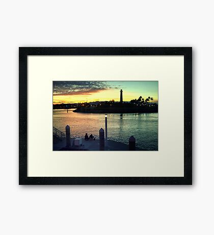 Together Time Framed Print