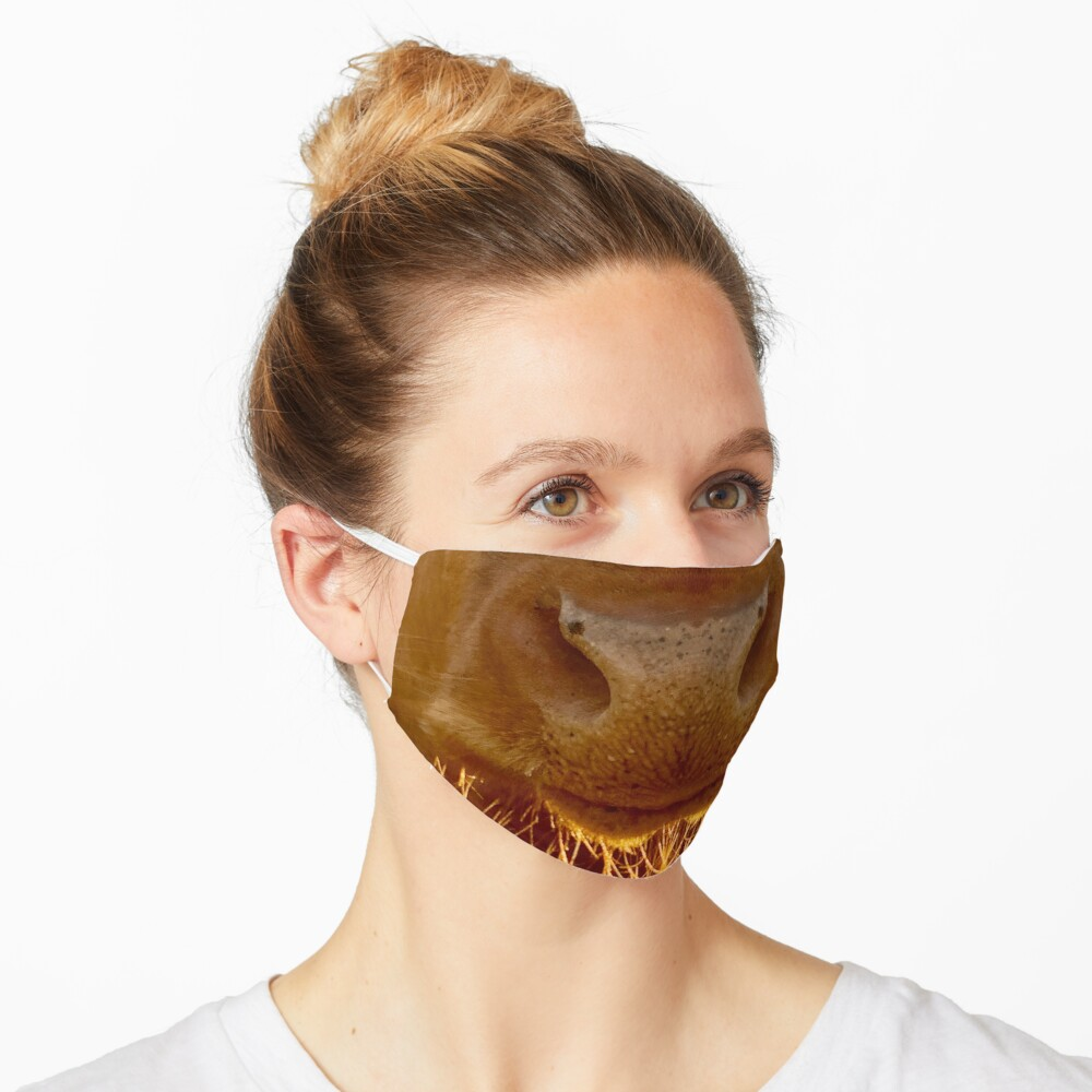 Guernsey Cow Face Covering Mask