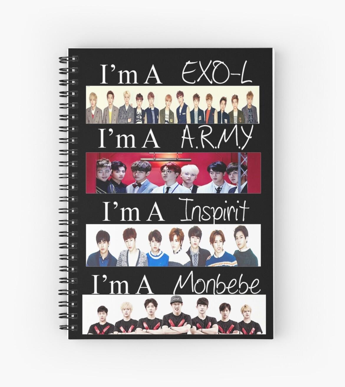 EXO, BTS, INFINITE, AND MONSTA X - I'M A FAN by Nicole Heisler