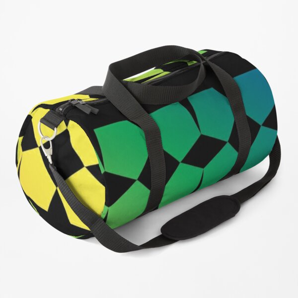 Geometric Shapes Pattern Duffle Bag