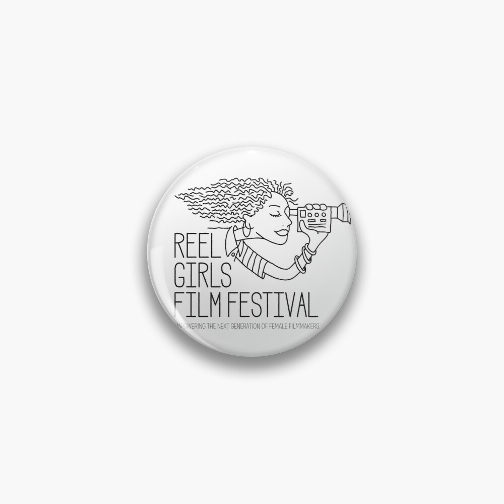 RGFF Black and White Pin