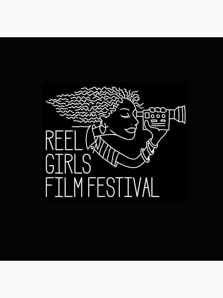 Reel Girls Logo on Black by ReelGirls