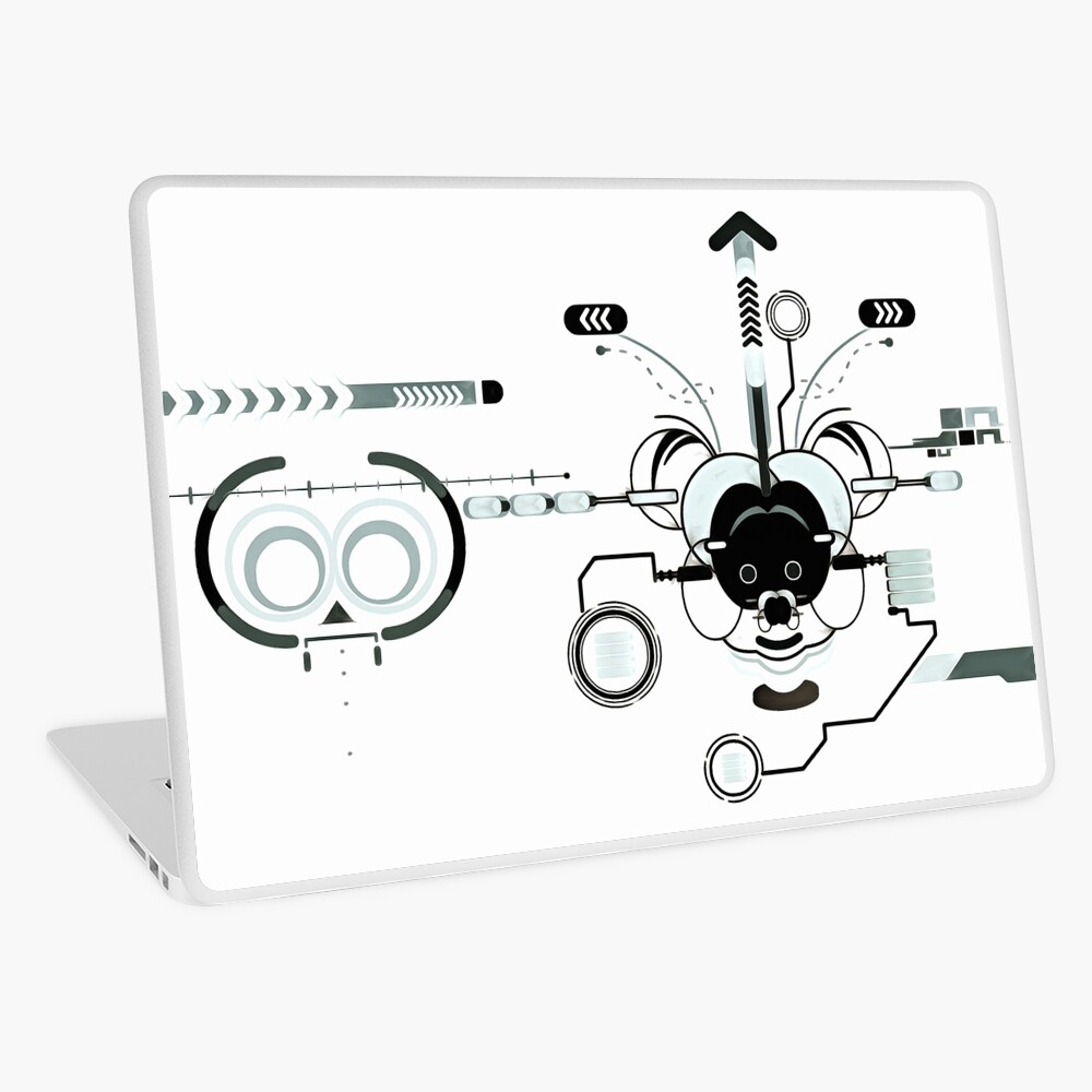 Cyber Mouse Laptop Skin