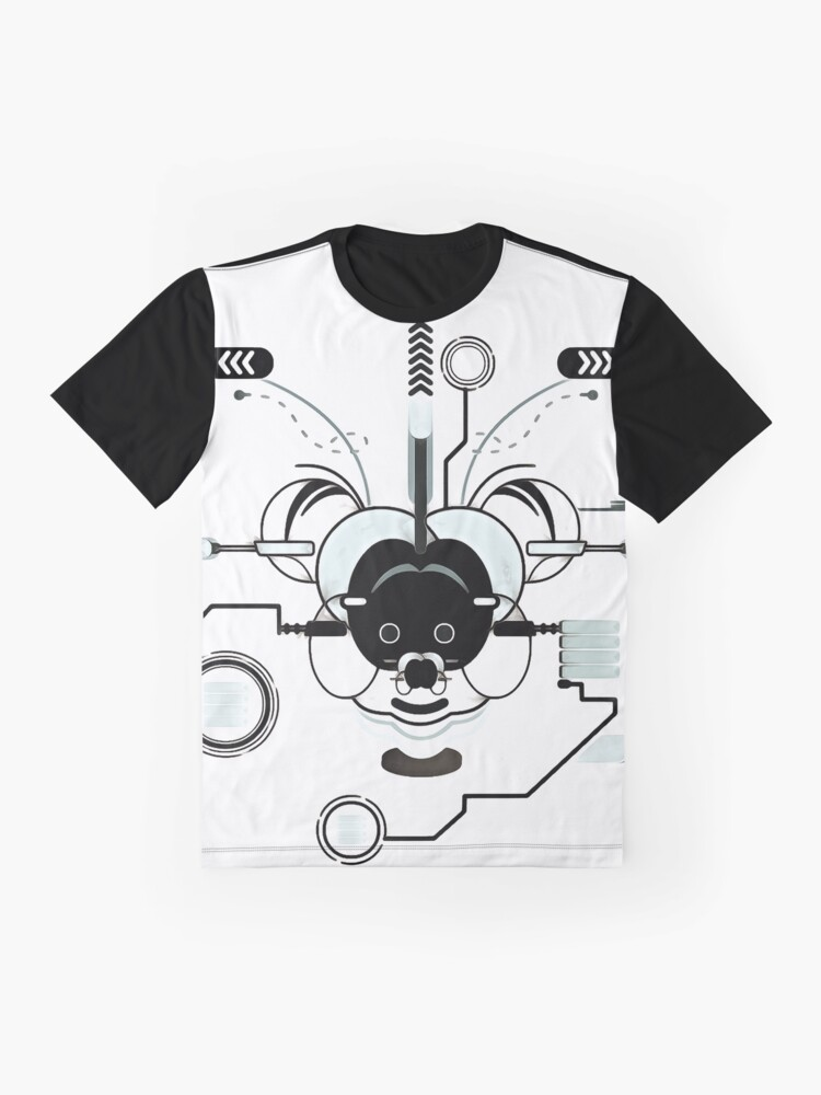 Alternate view of Cyber Mouse Graphic T-Shirt