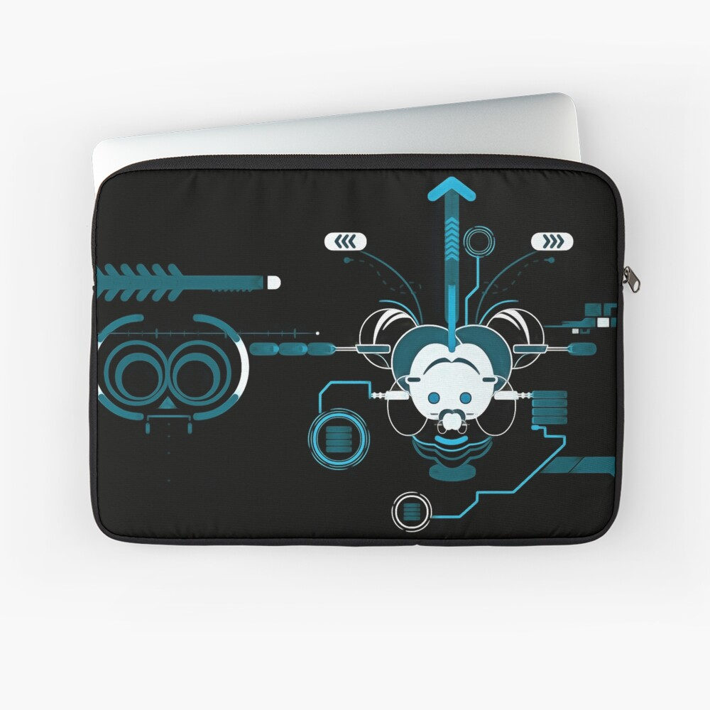 Cyber Mouse invert Laptop Sleeve