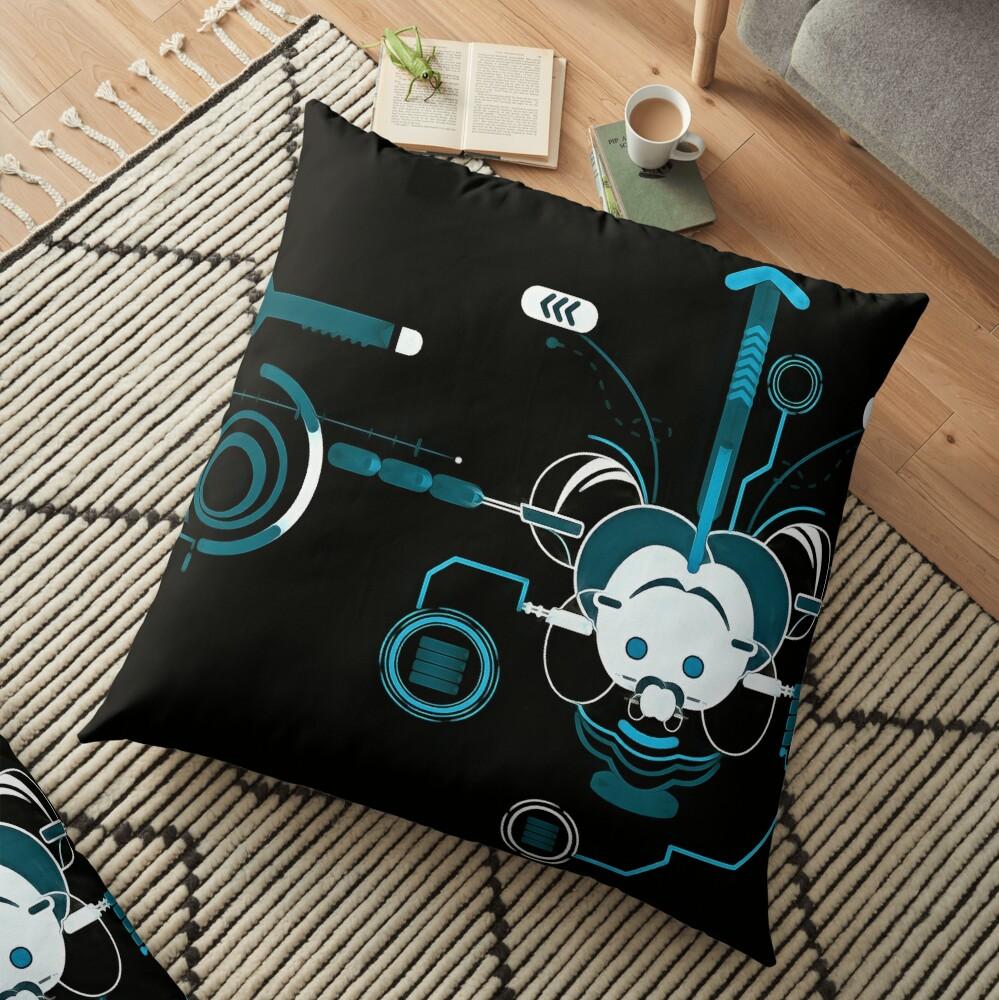 Cyber Mouse invert Floor Pillow