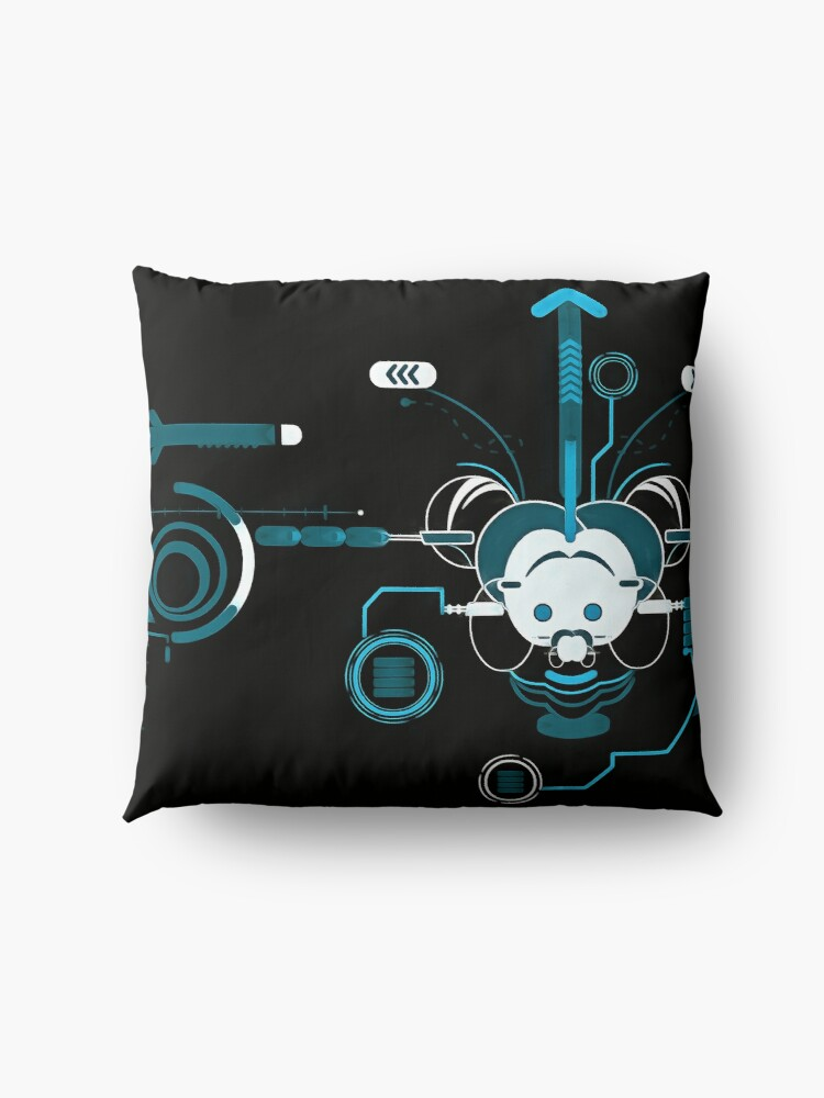 Alternate view of Cyber Mouse invert Floor Pillow