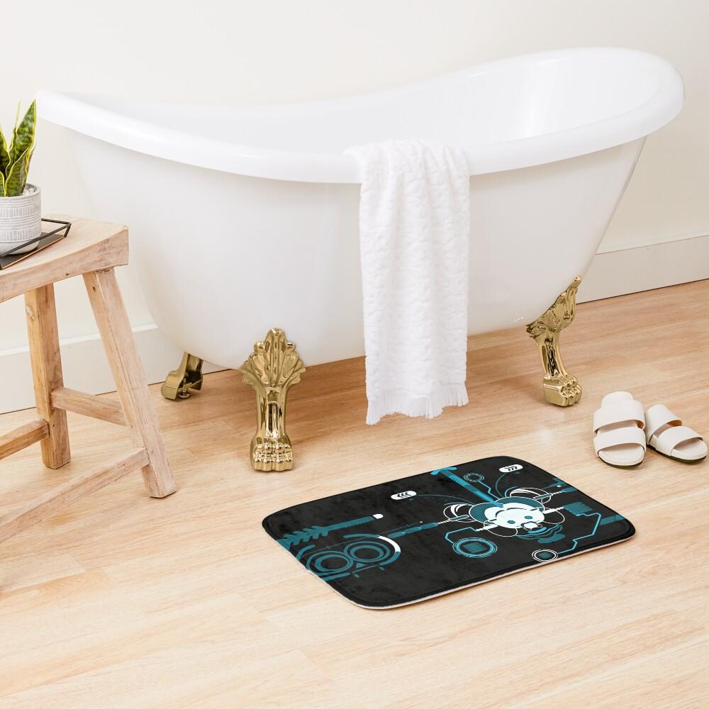 Cyber Mouse invert Bath Mat