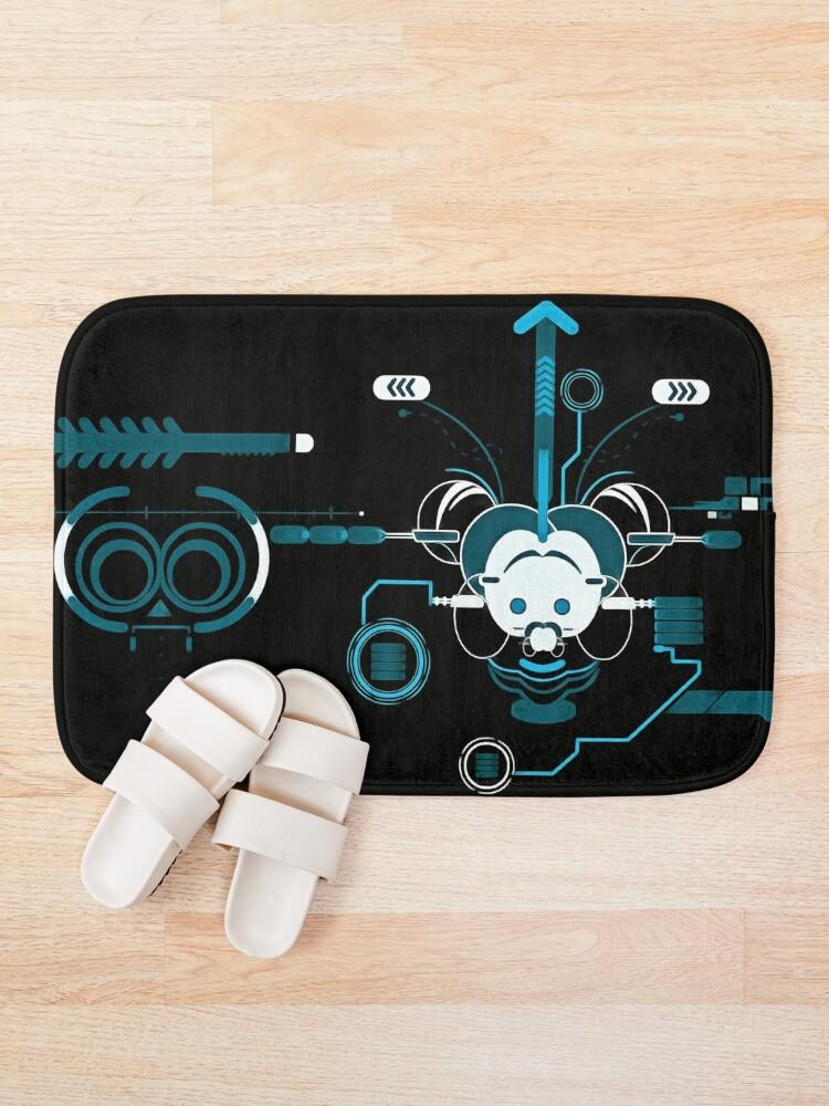 Alternate view of Cyber Mouse invert Bath Mat