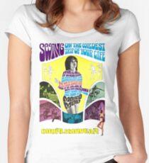 MONDO MOD Women's Fitted Scoop T-Shirt