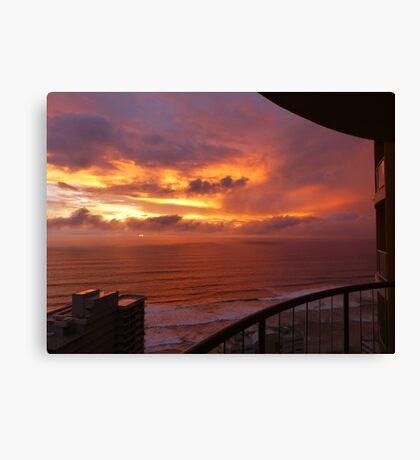 Sunrise at Surfers Paradise Canvas Print