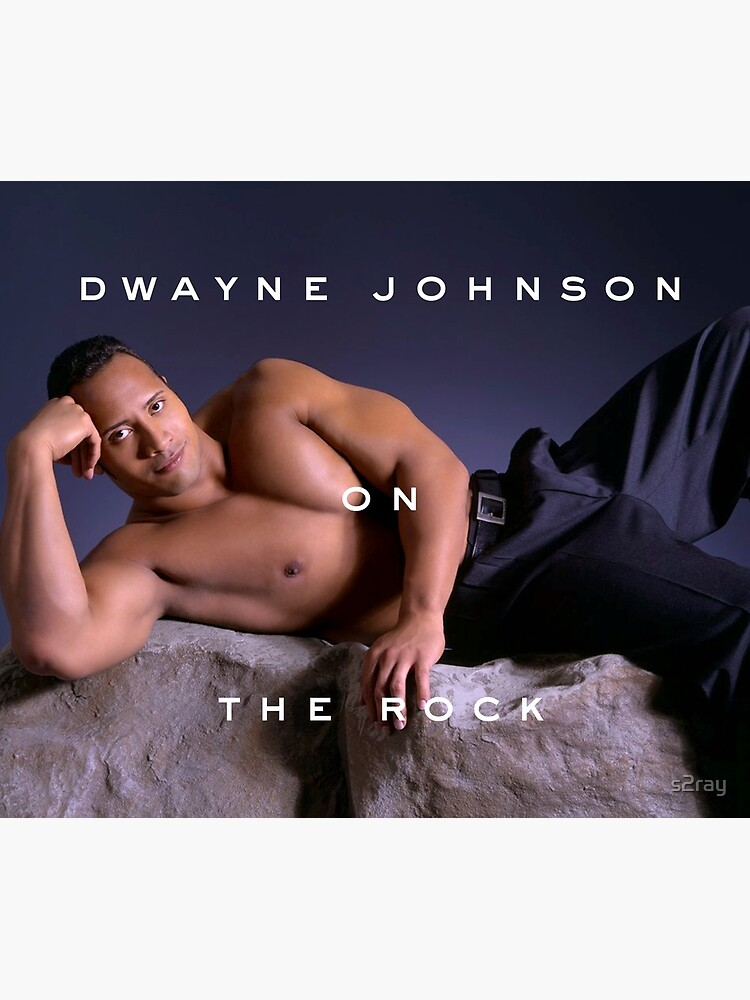 Dwayne Johnson on The Rock by s2ray