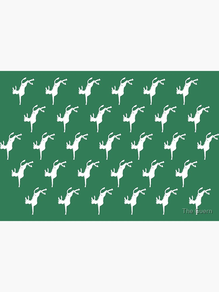 Dancing Donkeys Green by theguern