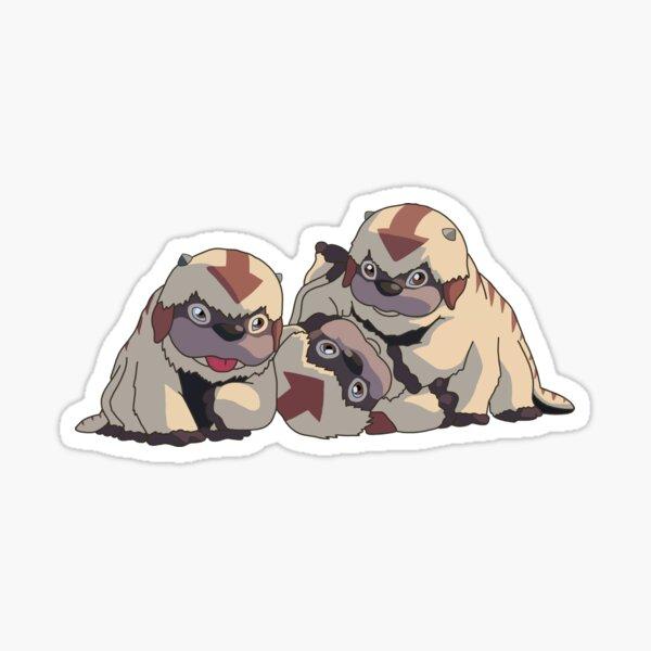 Flying Bison Babies Sticker