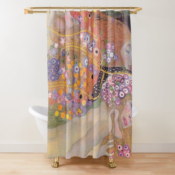 WATER SNAKES - GUSTAV KLIMT Shower Curtain