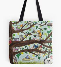 The Tire Swing Tote Bag
