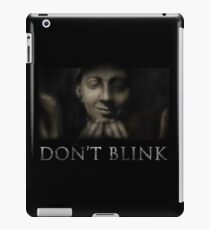 Don't Blink iPad Case/Skin