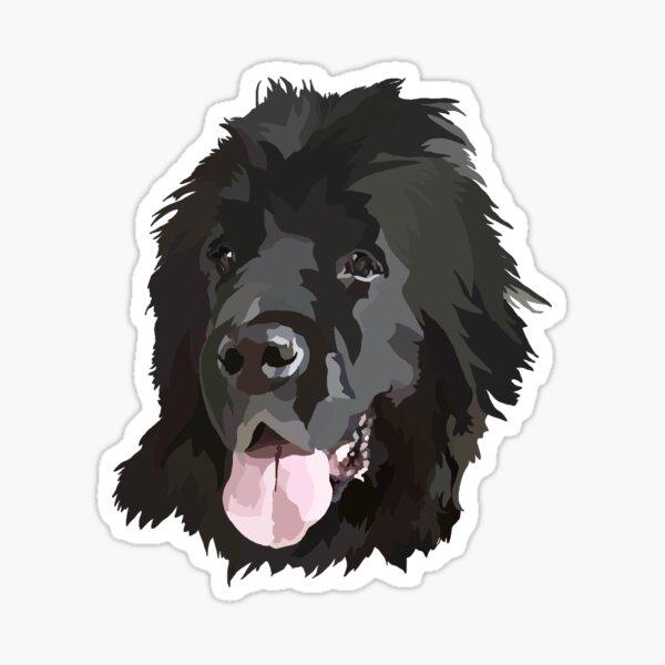 Newfoundland Doodle Sticker