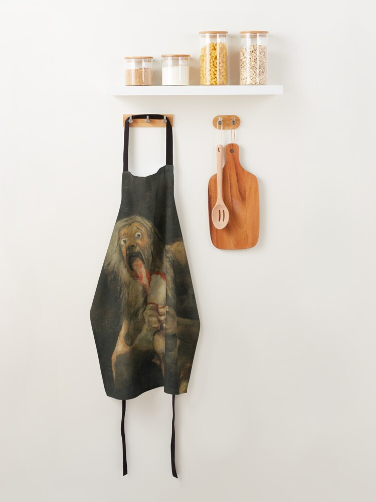 Alternate view of SATURN DEVOURING HIS SON - GOYA Apron