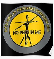 Battle Ropes - My Performance Enhancement Drug Poster