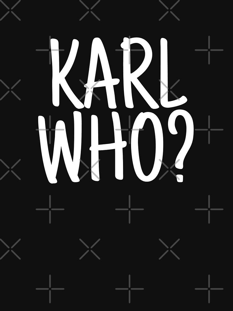 Karl who? karl lagerfeld by beldjouher