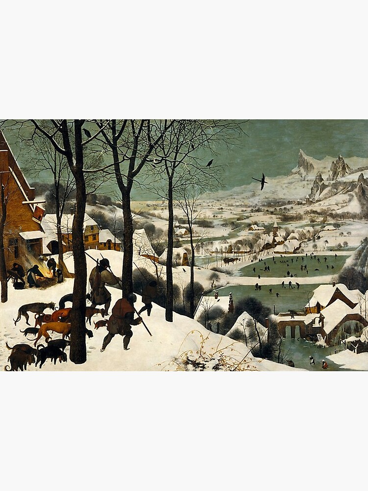 HUNTERS IN THE SNOW - BRUEGEL by iconicpaintings