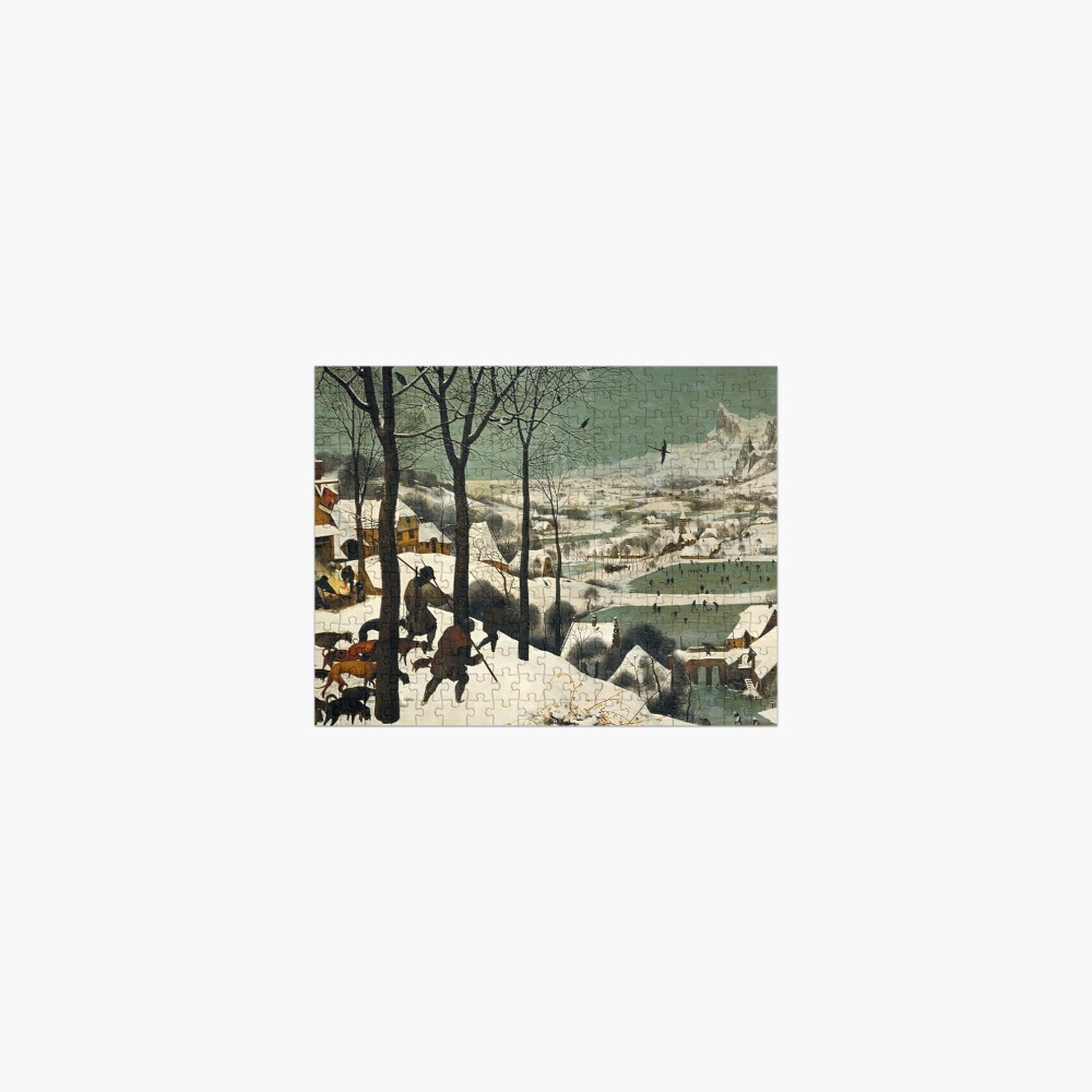 HUNTERS IN THE SNOW - BRUEGEL Jigsaw Puzzle