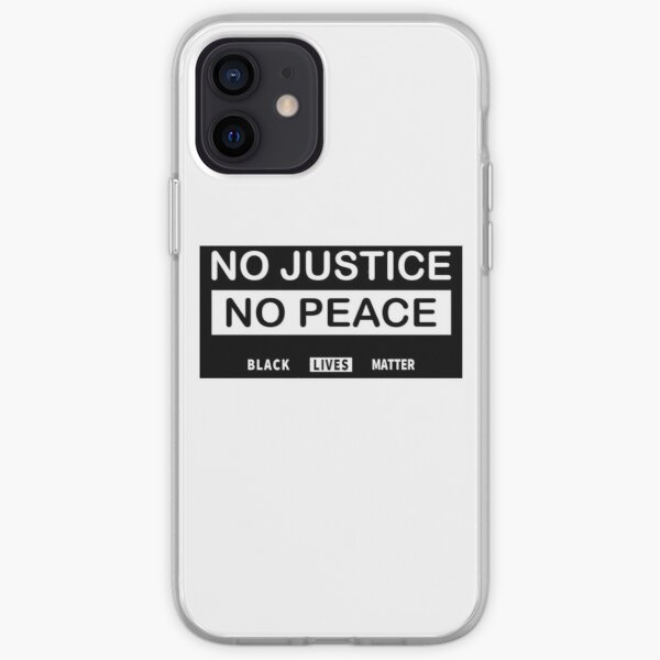 BLACK LIVES MATTER iPhone Soft Case