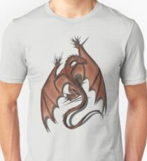 Smaug on your shirt! Unisex T-Shirt