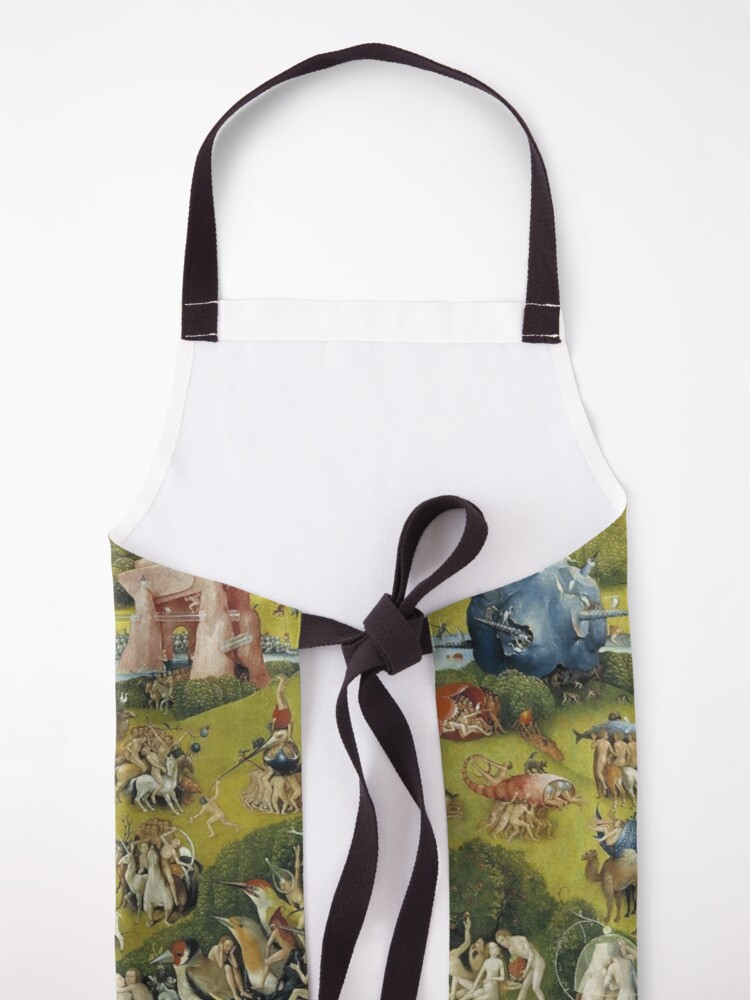 Alternate view of THE GARDEN OF EARTHLY DELIGHT - HEIRONYMUS BOSCH  Apron