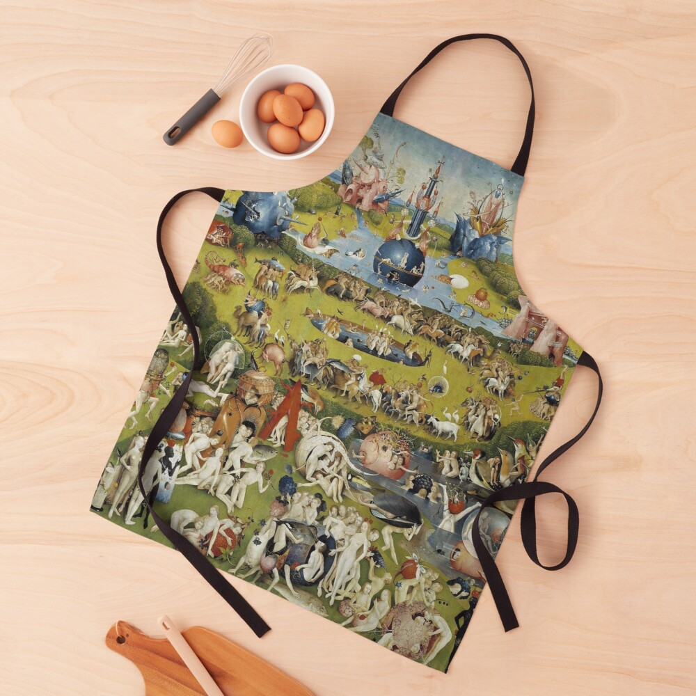 THE GARDEN OF EARTHLY DELIGHT - HEIRONYMUS BOSCH  Apron